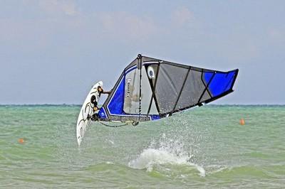 Windsurf action in Lignano Riviera #4. Foto: Giorgio De Santi