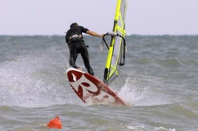 Windsurf action in Lignano Riviera #2. Foto: Giorgio De Santi