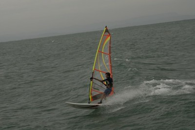 Windsurf session. Foto: Ivano De Simon